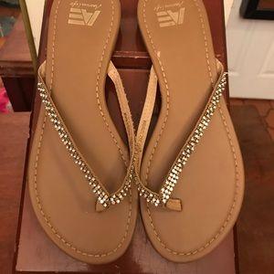 American Eagle🦅 Rhinestone sandals